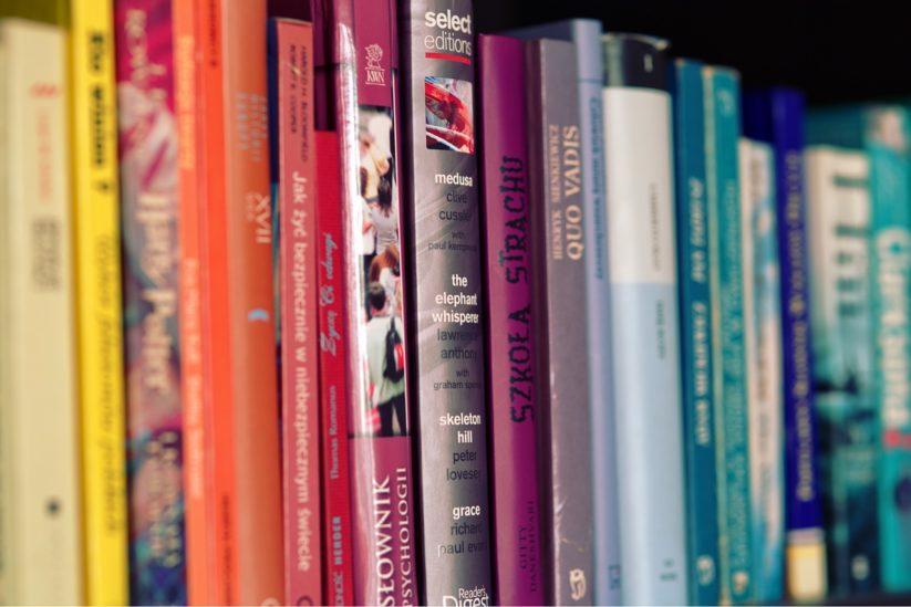 kolorowe książki