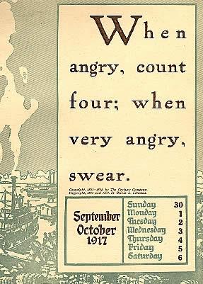 Mark Twain cytat o przekleństwie