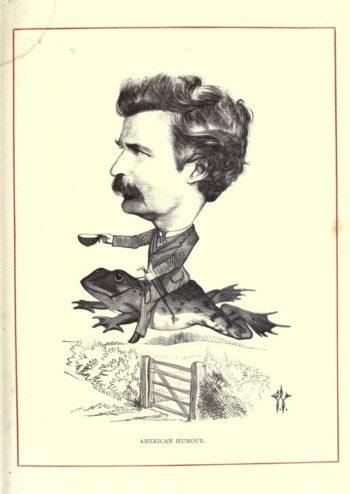 Mark Twain humor karykatura
